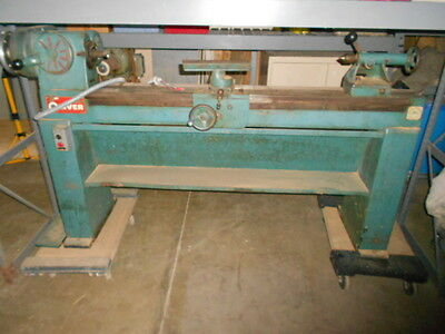 Oliver 159 Patternmakers Wood Lathe 230V 3-Ph Woodworking Machine 3/4 HP
