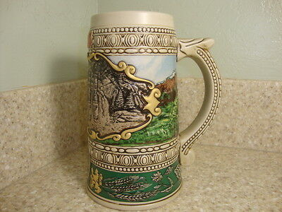 """Coors Beer Stein 1990 Edition """"1935"""" Print advertisement Ships In 24 Hrs"""