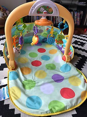 Fisher Price 3-in-1 Baby Car Activity Gym