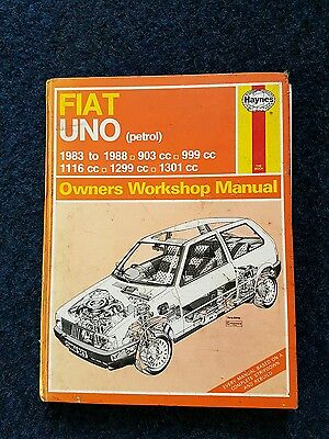 Haynes manual. Fiat Uno 83-88
