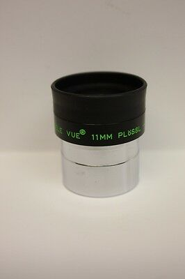 "Tele Vue  1.25"" 11mm Plossl Telescope Eyepiece Made In Japan Excellent Condition"