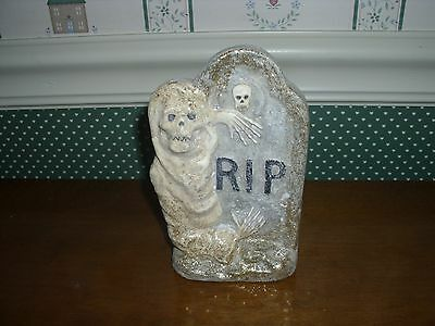 """Bethany Lowe-Halloween-  Glittered Tombstone-C-As Shown-6""""h"""