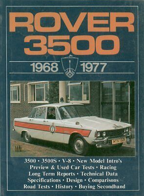 Rover P6 V8 3500 & 3500S ( 1968 - 1977 ) Period Road Tests Book