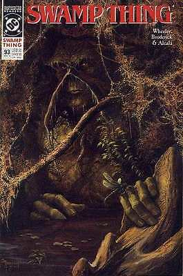 Swamp Thing (1982 series) #93 in Near Mint - condition. FREE bag/board