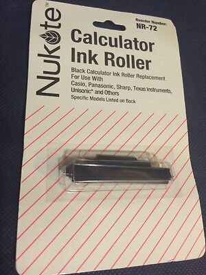 Calculator Ink Roller Black NR72