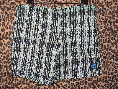 Vintage 80s Local Motion made in Hawaii 36 drawstring shorts with pockets