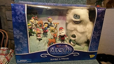 Rudolph and The Island Of Misfit Toys Figure Set - Bumble and Friends