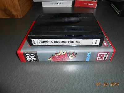 Kizuna Encounter / Fu'un Super Tag Battle (Neo Geo MVS, 1996) Cart and shock box