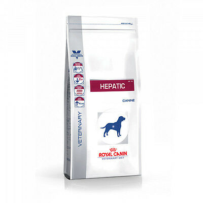 Croquettes Royal Canin Veterinary Diet Hepatic pour chiens Sac 12 kg