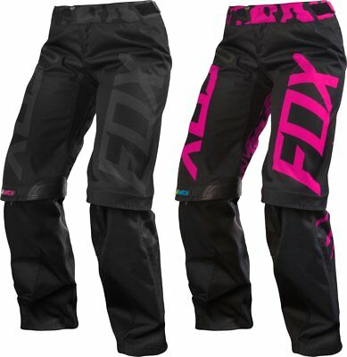 Fox Racing Womens Switch Over the Boot Convertible MX Riding Pants CLOSEOUT