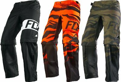 Fox Racing Mens Nomad Union Over the Boot Convertible MX Pants CLOSEOUT