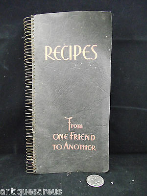 Recipes From One Friend To Another Purity Flour As Is As Found