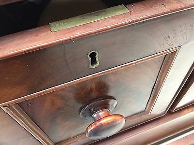 Antique Scotch Mahogany Chest Of Drawers