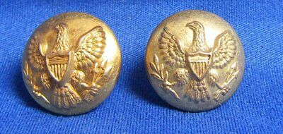 Indian Wars Army Buttons Lot Of 2 by Thomas Hood and Horstmann