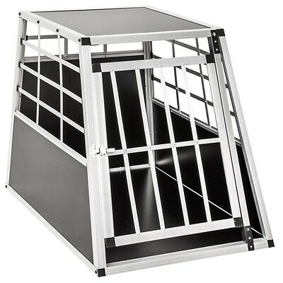 Cage box caisse de transport chien mobile aluminium single 3708004