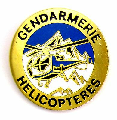 Pins Militaria Email Egf Gendarmerie Nationale Helicopteres