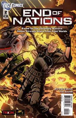 End of Nations #2 in Very Fine + condition. FREE bag/board