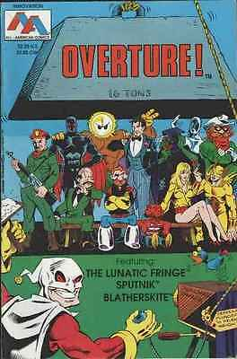 Overture #1 in Near Mint condition. FREE bag/board
