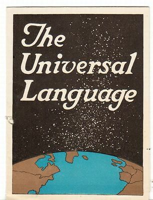 Undated Brochure Ad Continental Roofing Co Mobile AL Universal Language
