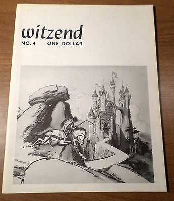 WITZEND No. 4 by WALLACE WOOD 1968