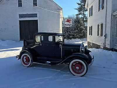 1931 Ford Model A Rumble seat coupe 1931 Ford Model A Coupe
