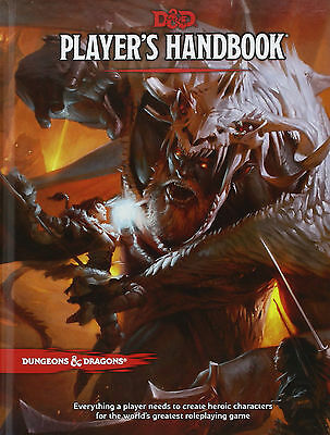 Dungeons and Dragons Players Handbook 5th Edition Hardcover