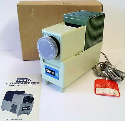 Brand New! Rare! Tmc 150 35Mm Slide / Film Strip Portable Projector Japan Made!