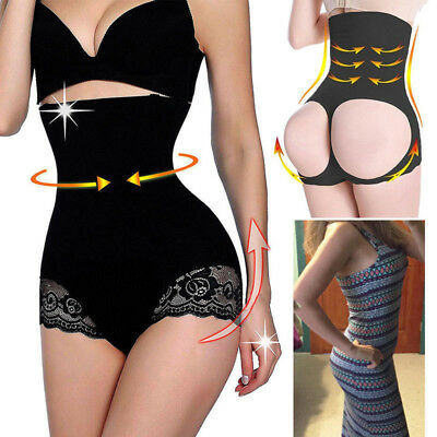 US Women Slim High Waist Trainer Tummy Control Shaper Hip Lifter Panty Shapewear