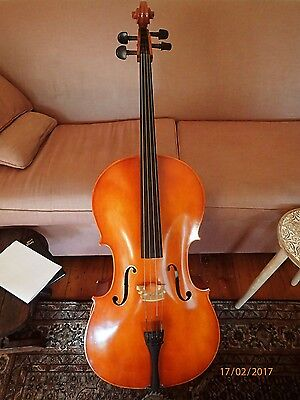 CELLO Full Size SAMUEL EASTMAN with Hard CASE Excellent Condition