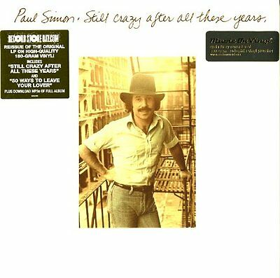 Paul Simon Still Crazy After All These Years Lp Vinyl 33Rpm New