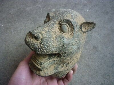 Ancient Chinese bronzes unearthed bronze, hand-carved bronze, zodiac tiger E60*