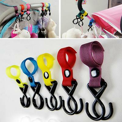 Accessory Multi Purpose Baby Hanger Pushchair Stroller Hooks