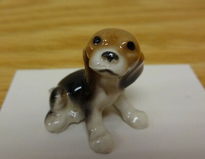 ➸ HAGEN RENAKER Dog Miniature Figurine Beagle Puppy