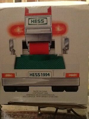 1994 Collectors Hess Truck In Box Never Opened!