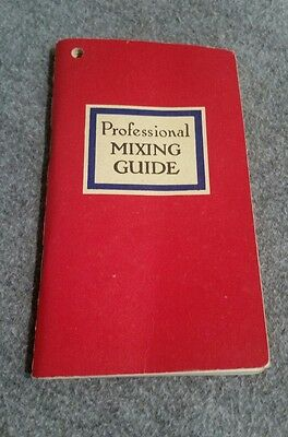vintage Angostura Professional Mixing Guide. 1964 edition.