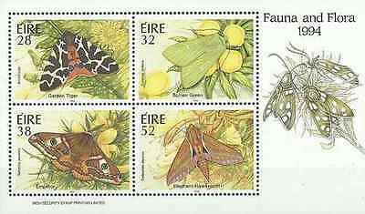 Timbres Papillons Irlande BF16 ** année 1994 lot 18702