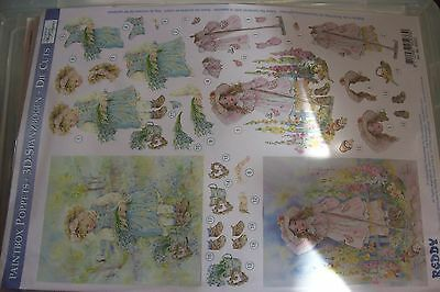 Craft Fair Clearout  Decoupage Card Kit No:9  Pls Read Description  In Listing
