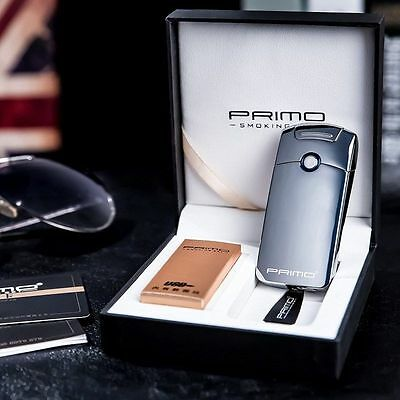 Primo Electric Plasma Arc Windproof Cigarette USB Rechargeable Lighter