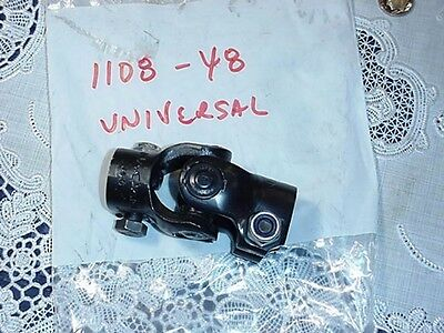 Universal Joint Coupling NaCam RP6, P/N 1108-48, Black .750 Inch ID Bore NEW!