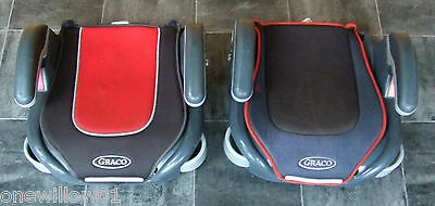 2 x GRACO BOOSTER CHILD CAR SEAT Collection Only Essex SS6