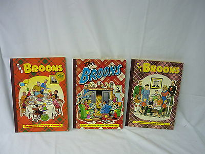 Three x The Broons Comic Books  Thames hospice 107R2