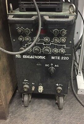 Migtronic Tig Welder Mte 220 3 Phase