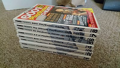 Volumes 1 - 8 PlayStation Cheat Books - Sony Playstation PS1 - FREE UK POSTAGE