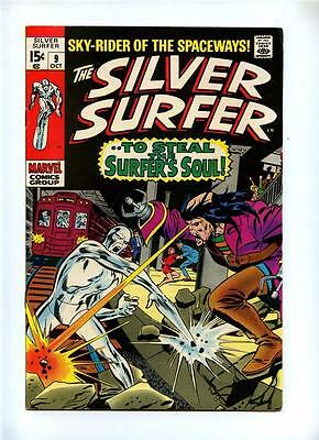 Silver Surfer #9 - Marvel 1969 - FN/VFN - To Steal the Surfer's Soul