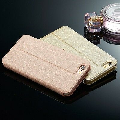 Luxury Diamond Leather Magnetic Flip Card Wallet Case Cover For Apple iPhone N