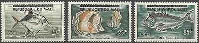 Timbres POISSONS Mali 10/12 * (3672)