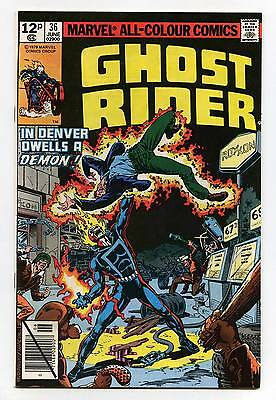 Ghost Rider #36 - Marvel - 1979 - VFN/NM - Pence Issue
