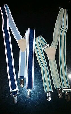 2x new boys retro braces bought from Zulily