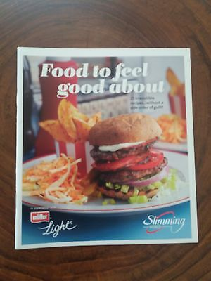 Slimming World  Food to Feel Good About Muller Light booklet