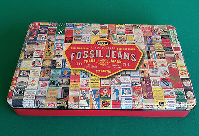 Fossil Jeans Promotional Tin
